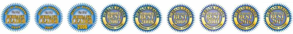 Voted Best of Burbank 9 years