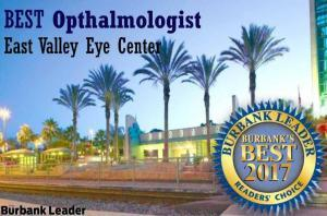Voted best of Burbank ophthalmologist